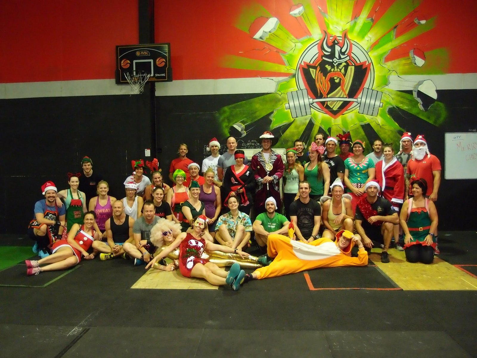 Brisbane City Indoor Sports   Christmas Party 72